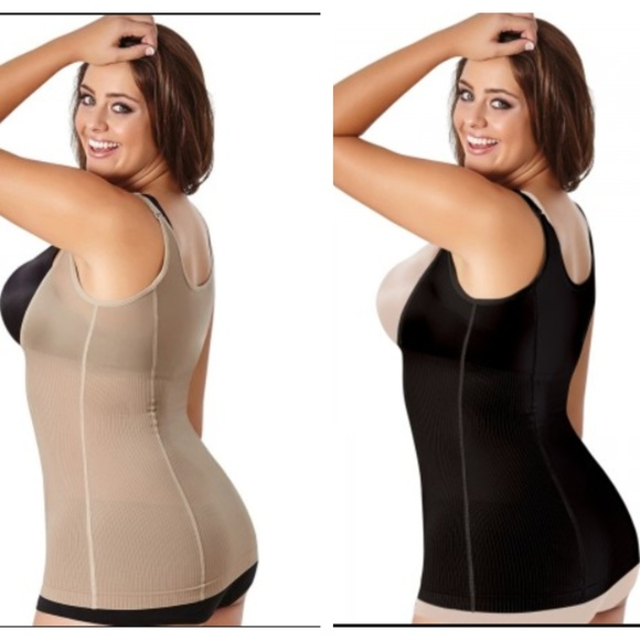 64680d33b TWO PLUS SIZE BODY SHAPER TOP WOMEN